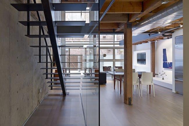 Oriental Warehouse Loft in San Francisco, CA by EDMONDS + LEE ARCHITECTS