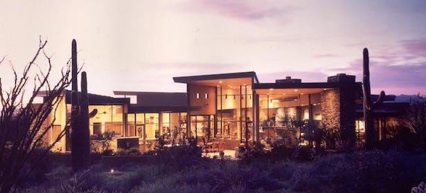 Desert Contemporary Residence