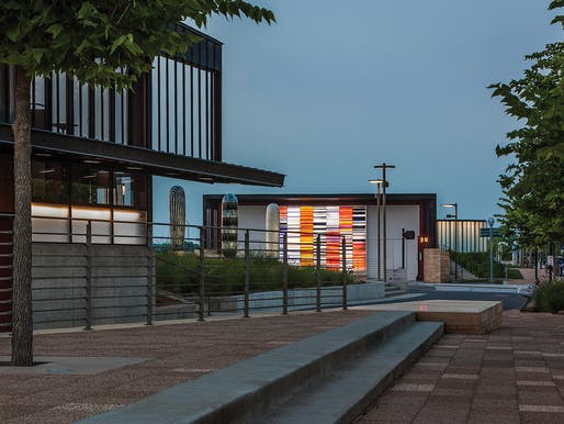 Principal Riverwalk Pump Station in Des Moines, Iowa   substance architecture. Photo © Paul Crosby.