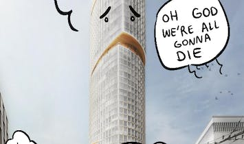 San Francisco is quick to poke fun of Snøhetta's new One Van Ness tower design