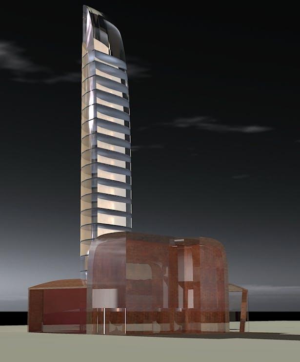 Chrome tower Toronto