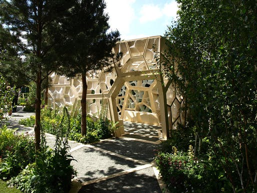 The Times Eureka Pavilion at the RHS Chelsea Flower Show by NEX, Marcus Barnett and Buro Happold
