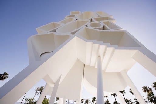 Tower of Twelve Stories by Bureau Spectacular, 2016. Photo courtesy of Bureau Spectacular.