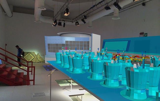 Project 5: Virtual Trading Floor, 1999 by Asymptote Architecture. Image courtesy of Güvenç Özel