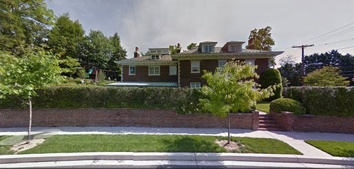 The site of a gruesome murder, a house like this one can be incredibly difficult to sell. Credit: Google Maps