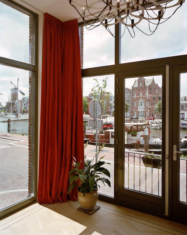 large windows maximizing view and daylight