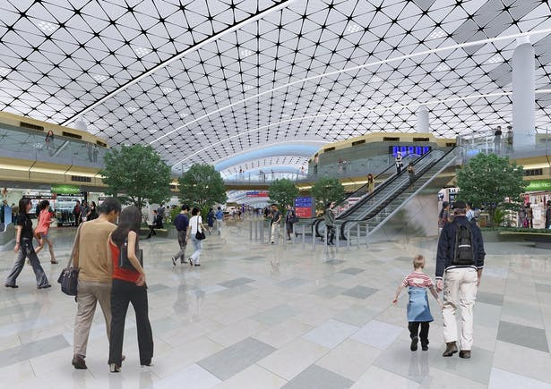 Architecture by Aedas – Hong Kong International Airport Midfield Concourse