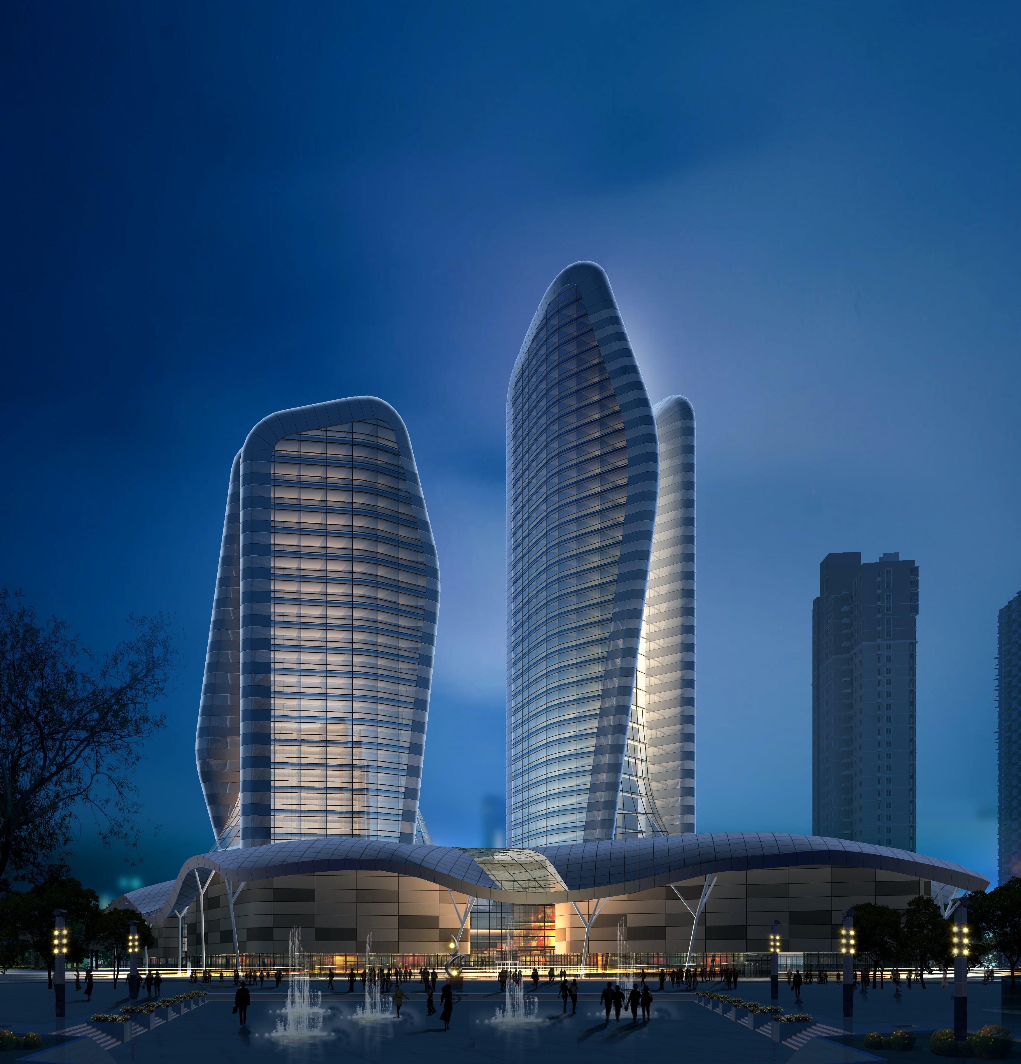Wuhan Wangjiadun Cbd 5 Star Hotel Yanrong Gao Archinect