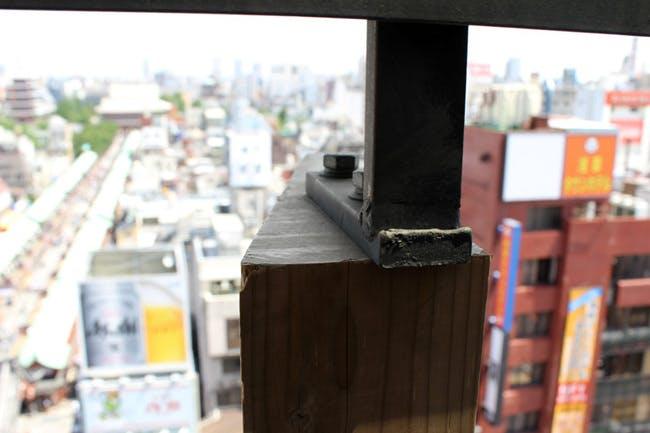 (fin detail of Asakusa Visitor Center by Kengo Kuma & Associates) Alexander Morley