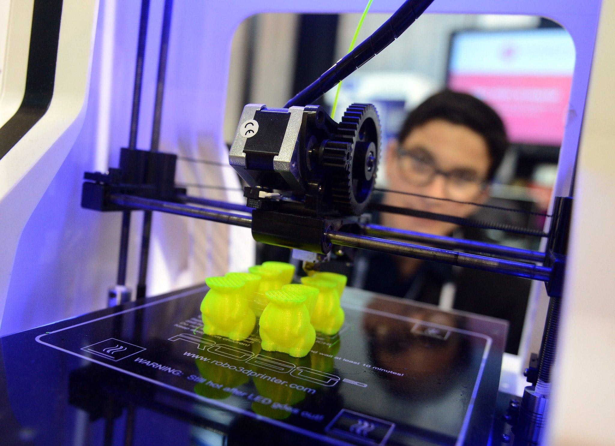 3-D printing market predicted to grow to $16.2 billion by 2018