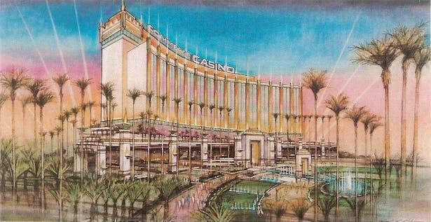 Commerce Casino Expansion (Exterior)