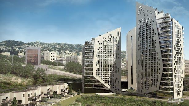 Michel Abboud Design for Sin el FIl 877