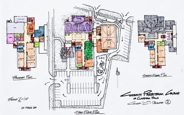 Floor & Site Plan Study