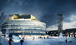 Henning Larsen Architects wins Kiruna City Hall competition in Northern Sweden