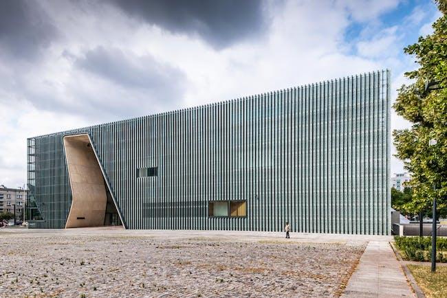 POLIN Museum of the History of Polish Jews by Lahdelma & Mahlamäki Architects