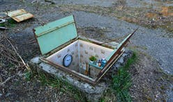 Miniature manhole rooms highlight reality of Bucharest's underground dwellers
