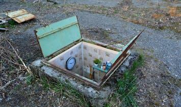 Miniature manhole rooms highlight reality of Bucharest's underground dwellers
