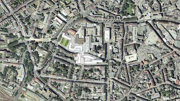 site plan © kadawittfeldarchitektur