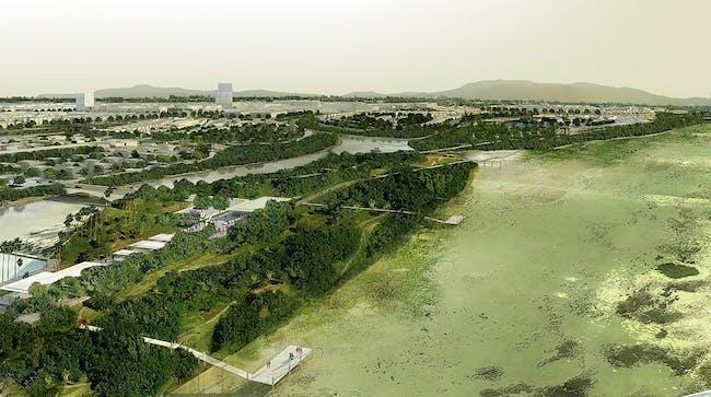 Danang aerial view (Image: SOM)