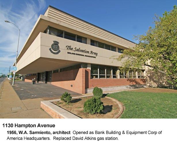 Bank Building of America Corporation Headquarters