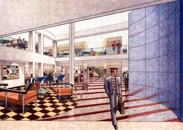 Jolly Madison Hotel Manhattan New York Ahuja Partnership Architects Apa Archinect
