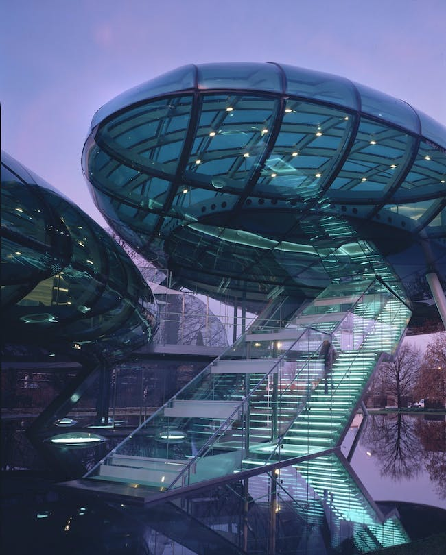 Nardini Research Centre and Auditorium in Vicenza, Italy by Studio Fuksas