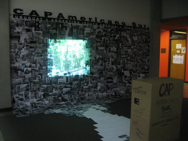 Paper and projected imagery