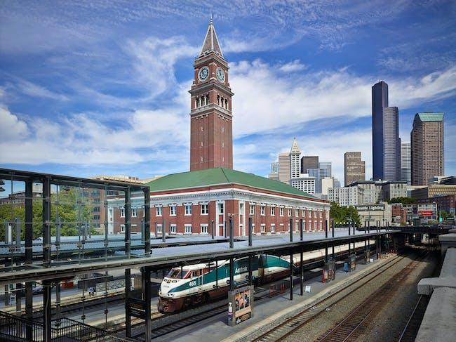 King Street Station - Seattle, WA. Photo: Benjamin Benschneider