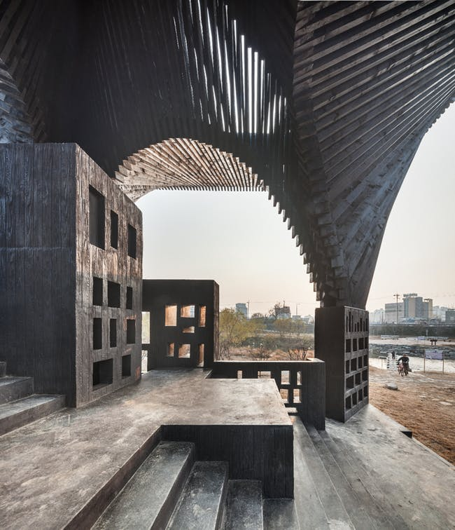 David Adjaye and Taiye Selasi's 'Gwangju River Reading Room', image credit Kyungsub Shin.
