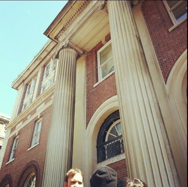 Avery Hall, the gorgeous building that houses Columbia's architecture department via jesusmaldonado