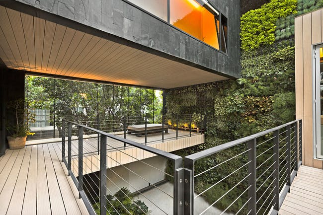 CorManca House in Mexico City by PAUL CREMOUX studio; Photo: Héctor Armanado Herrera