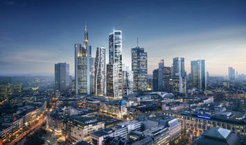 UNStudio to redevelop former Deutsche Bank site in Frankfurt