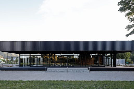 PUBLIC ARCHITECTURE: Irving Smith Architects in Nelson for Trafalgar Centre. Photo: Ana Galloway, Patrick Reynolds.