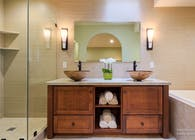 Yoko Oda Interior Design - Zen Bathroom - Walnut Creek, CA