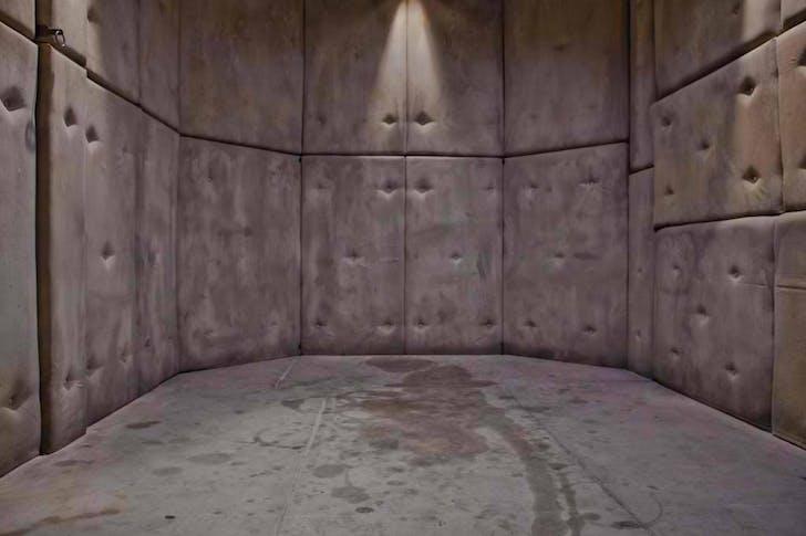The 'Padded Cell' set. Image courtesy Kink.com