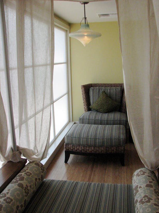 Lounge area at Sano Spa