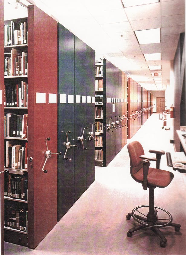 High Density Storage in the Library
