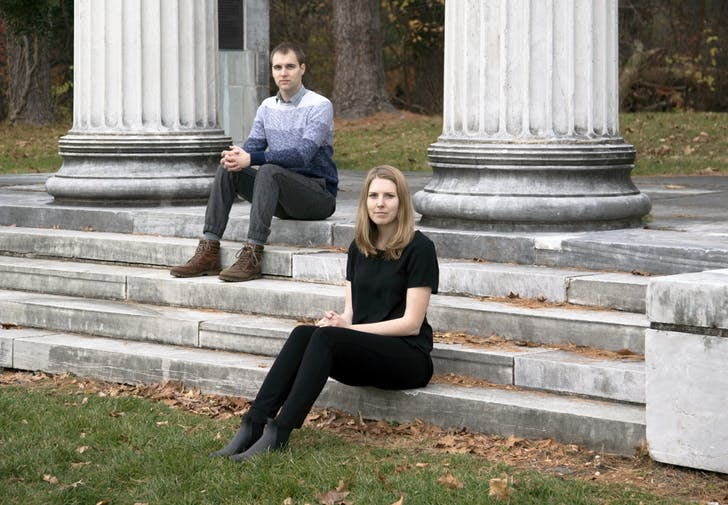 Katie MacDonald (left) and Kyle Schumann (right). Founders of After Architecture.