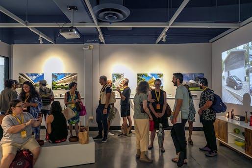 'Tropical Modernism' exhibition at the Haigo and Irene Shen Architecture Gallery, University of Hawai'i at Manoa. Photo © Andrea Brizzi.