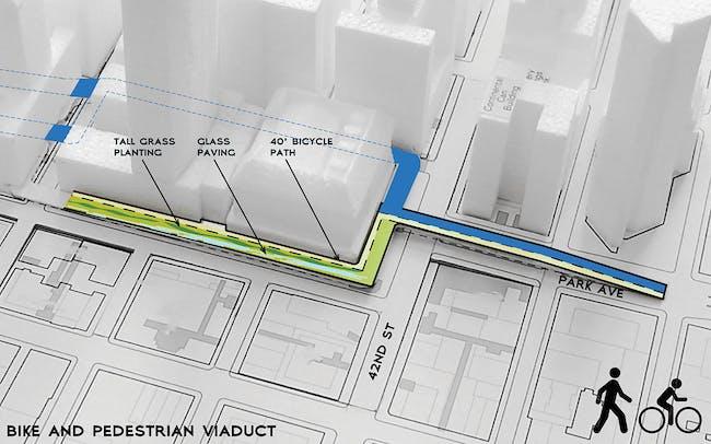 Diagram viaduct (Image: WXY Architecture + Urban Design)