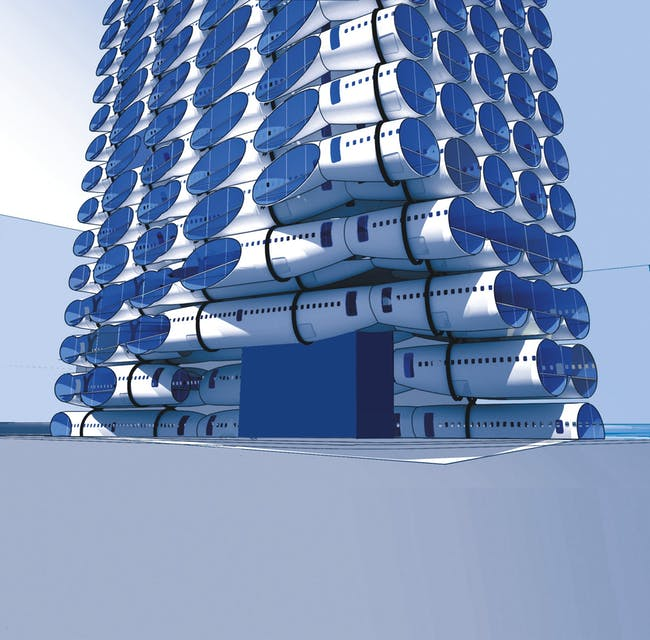 B737 Hotel design. Credit: LOT-EK.