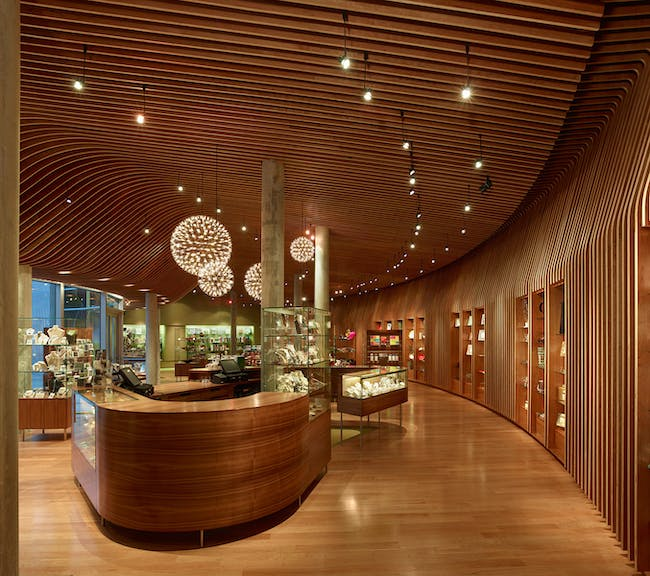 RETAIL: Crystal Bridges Museum of American Art Store by Marlon Blackwell Architect (Photo: Timothy Hursley)