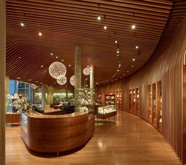 RETAIL: Crystal Bridges Museum of American Art Store by Marlon Blackwell Architect (Photo: Timothy Hursley)