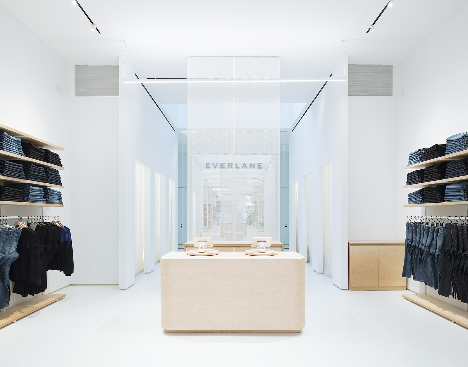 LEONG LEONG designs Everlanes first flagship store in New York City