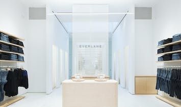 LEONG LEONG designs Everlane's first flagship store in New York City
