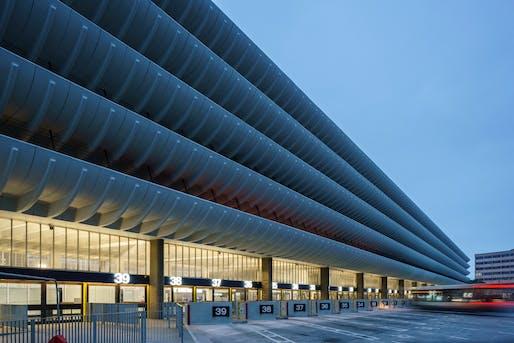 Preston Bus Station Refurbishment by John Puttick Associates with Cassidy+Ashton. Photo © Gareth Gardner.