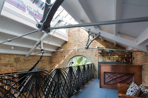 The Pump House, London UK, by Webb Yates Engineers. Photo: Agnese Sanvito.