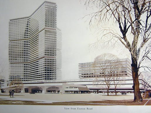 New Euston Station, 1968 (NRM)