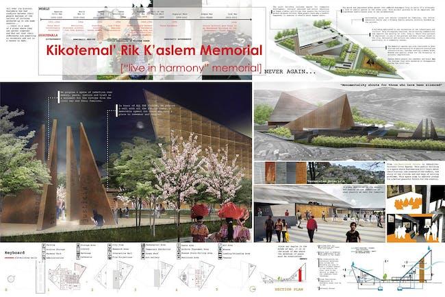 Political Response, Second Place: Kikotemal' Rik K'aslem Memorial, Guatemala City, Guatemala