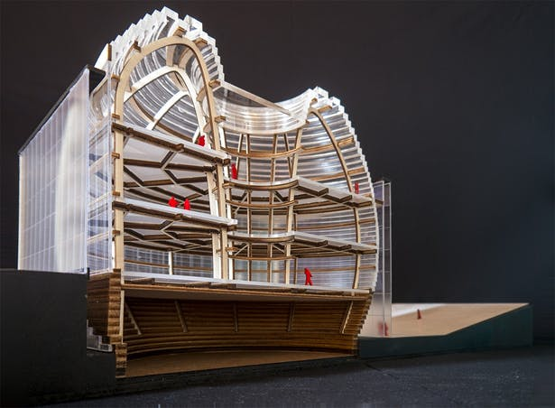 Section model - structure
